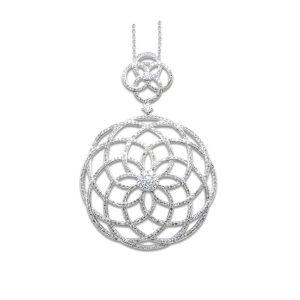 Pendants arik jewelry inc 2 14k white gold pendant 192ct of diamonds si1 color g aloadofball Images
