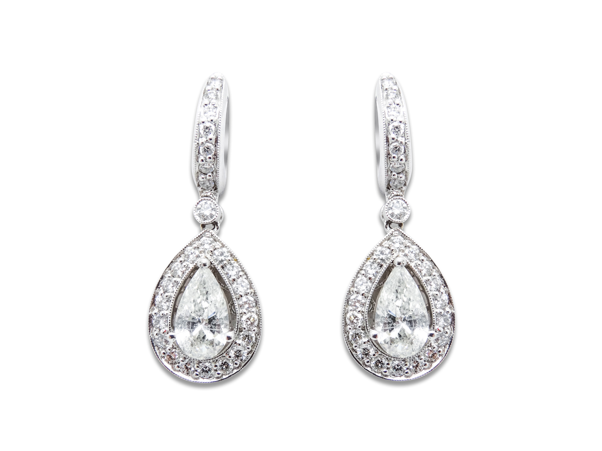 shaped diamond lesley pear ann rough with jewels earrings p products t collections baguettes