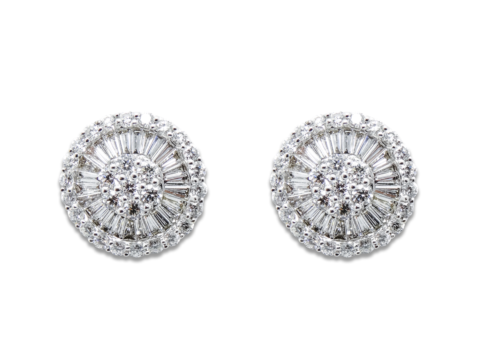 in ct diamond jewelry stud white earrings tw gold